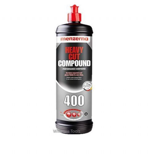 Menzerna 400 Heavy Cut Polishing Compound 1 Litre